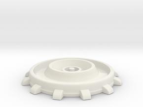THE MATRIX - Neural Interface / Headjack in White Natural Versatile Plastic