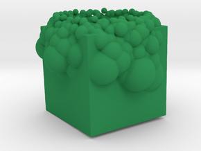Incendia Ex Cube Balls in Green Processed Versatile Plastic
