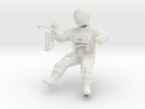Gemini EVA Astronaut / 1:32 in White Natural Versatile Plastic