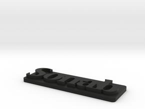 Sonab-plast in Black Natural Versatile Plastic