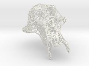 PetitSinge Wireframe in White Natural Versatile Plastic