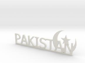 Pakistan Small in White Natural Versatile Plastic