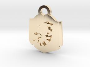 Cutie Mark Crusader Medallion in 14K Yellow Gold