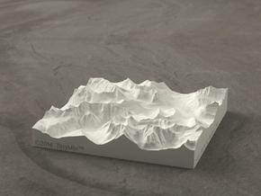 4'' Glacier National Park, Montana, USA, Sandstone in Natural Sandstone