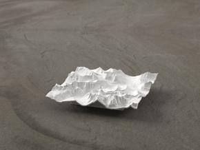 3'' Glacier National Park, Montana, USA in White Natural Versatile Plastic