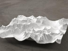6'' Glacier National Park, Montana, USA in White Natural Versatile Plastic