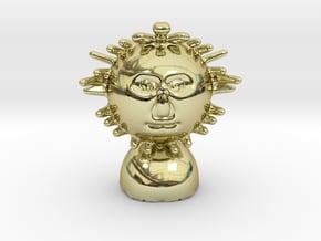 Mr Sun or mr brightside in 18k Gold