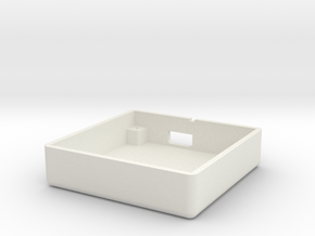 uBlox GPS Module V2.0 Case - Main in White Natural Versatile Plastic