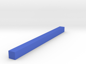 Assembly Parts Small C1 in Blue Processed Versatile Plastic