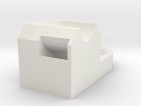 Bracket2 in White Natural Versatile Plastic