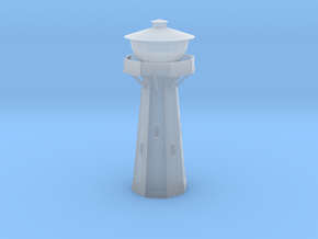 Z Scale European Water Tower in Smooth Fine Detail Plastic