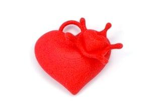 LoveSplash in Red Processed Versatile Plastic