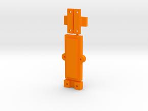 Clamp Group in Orange Processed Versatile Plastic