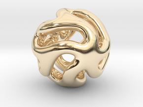 Starfish Kanga Pendant in 14K Yellow Gold
