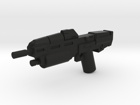Anti Infantry Rifle in Black Natural Versatile Plastic