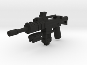 Hybrid M4A1  in Black Natural Versatile Plastic