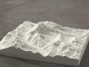 6''/15cm Aconcagua, Argentina, Sandstone in Natural Sandstone