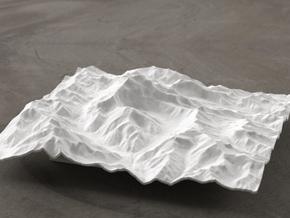 6''/15cm Aconcagua, Argentina, WSF in White Natural Versatile Plastic