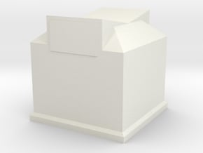 Clothing Bin (n-scale) in White Natural Versatile Plastic