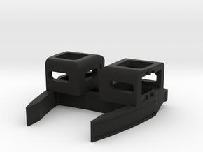 Main Body For Light Pods in Black Natural Versatile Plastic