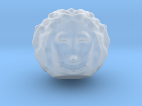 just a  Head  in Smooth Fine Detail Plastic