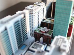 Chicago Set 1 Residential Building 3 x 2 in Full Color Sandstone