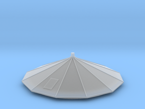 N-Scale (1/160) Water Tower Top in Smoothest Fine Detail Plastic
