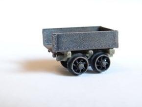 Rhosydd Quarry Rubbish Truck (Underframe x3) in Smooth Fine Detail Plastic