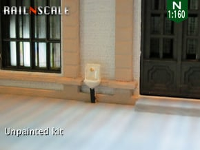 2 Handwaschbecken (N 1:160) in Smooth Fine Detail Plastic