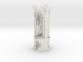 Lamp Shade Nativity Decorative Lite in White Natural Versatile Plastic