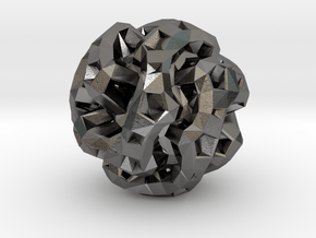 Cotton Micro in Polished Nickel Steel