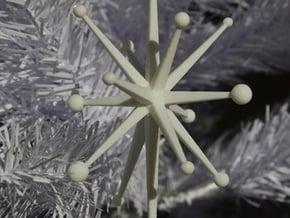 SputnicD in White Processed Versatile Plastic
