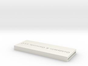Icgh8ld3omubtl4amnvkulgqs0 51266458.stl in White Natural Versatile Plastic