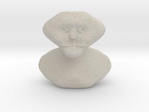 Et Bust in Natural Sandstone