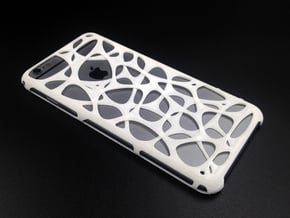 iPhone 6 Plus / 6s Plus case - Cell 2 in White Natural Versatile Plastic