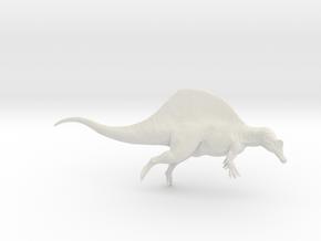 Dinosaur Spinosaurus 1:40 swimming in White Natural Versatile Plastic