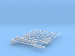 Tool Set in Smooth Fine Detail Plastic