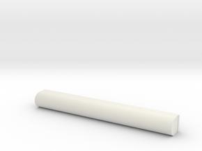 Cloud Car Engine Rear Detail in White Natural Versatile Plastic