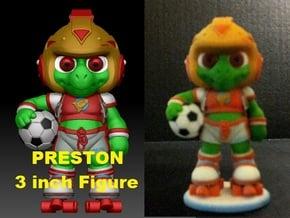 Preston 3in Fig. PRESTON & THE GALAXY 3 in Full Color Sandstone