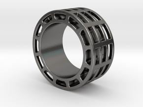 Minimal Ring (US 10.5) in Polished Nickel Steel