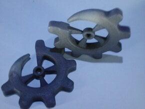 Gear-ring 2g in White Natural Versatile Plastic