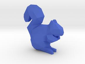 19-Squirrel-Printable in Blue Processed Versatile Plastic