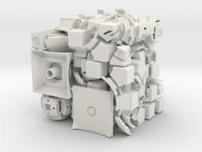 Mercury DoDep 3x3x3 in White Natural Versatile Plastic