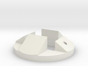 ATST Connector1 in White Natural Versatile Plastic
