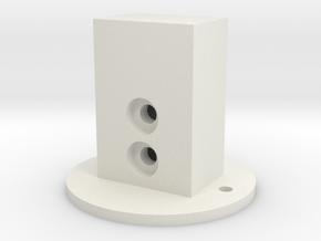 ATST Connector2 in White Natural Versatile Plastic