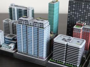 New York Set 1 Residential Building 2 x 4 in Full Color Sandstone