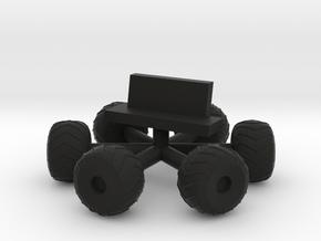 "Amphi-cat Moonbuggy Wheels & Seat for 12"" Eagle in Black Natural Versatile Plastic"