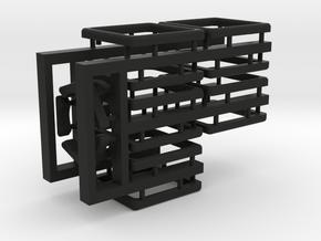 Tiles for the Multi-Gear Cube Kit in Black Natural Versatile Plastic