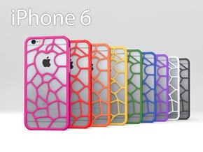 """iPhone 6 """"Organic Apple"""" Case in Pink Processed Versatile Plastic"""