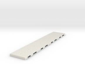 P-165stw-straight-long-wedge-w-1a in White Natural Versatile Plastic